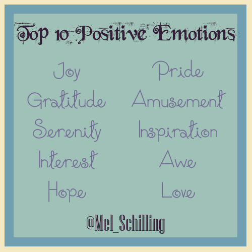 Top 10 Positive Emotions