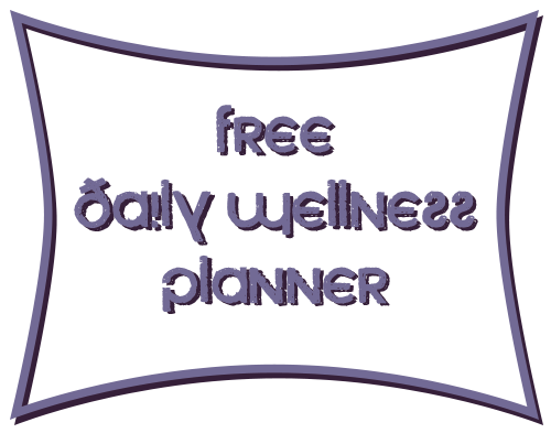 Free Daily Wellness Planner